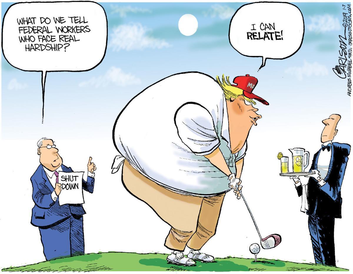 Editorial cartoon (1/13/2019)