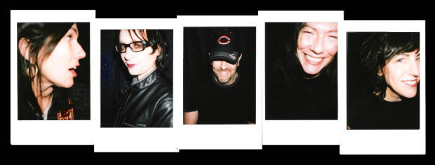 the Breeders Touring Band - 2013