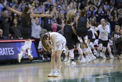 WIAA state girls basketball: Middleton falls late to Bay