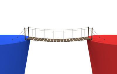Bridging the red/blue divide (for Fanlund column_