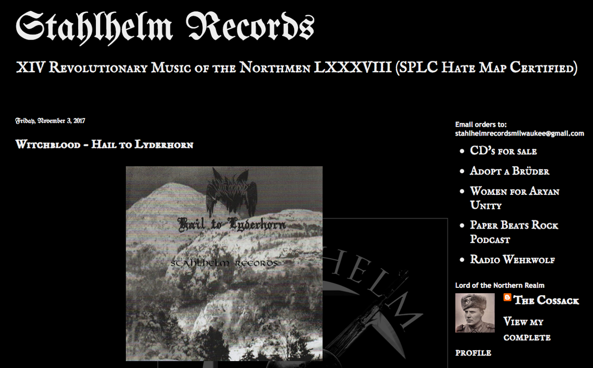 Screenshot Stahlhelm Records