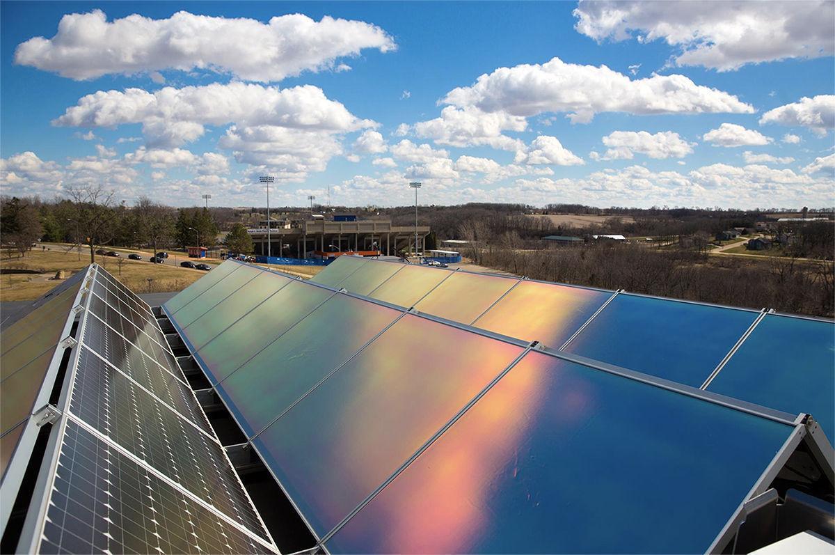 UW-Platteville solar panels