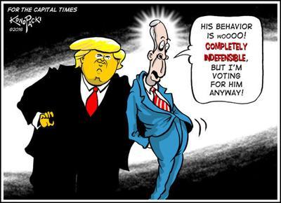 Editorial cartoon (10/19/2016)