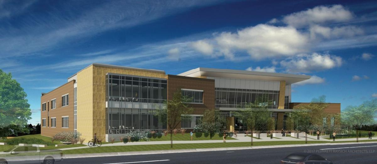 Madison College South Campus rendering