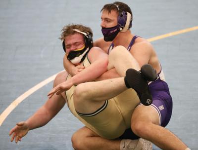 WIAA wrestling photo; Stoughton's Brooks Empey
