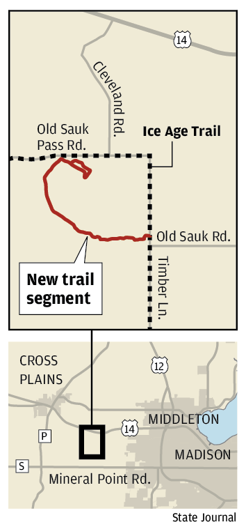 New trail segment