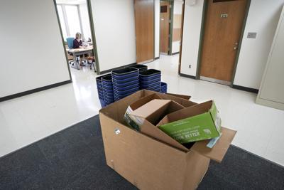 UW-Madison faculty, staff return to Vilas Hall