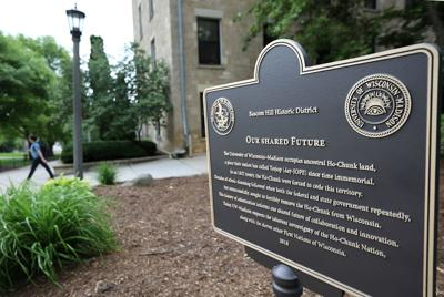 New UW-Madison plaque recognizes ancestral home of the Ho-Chunk