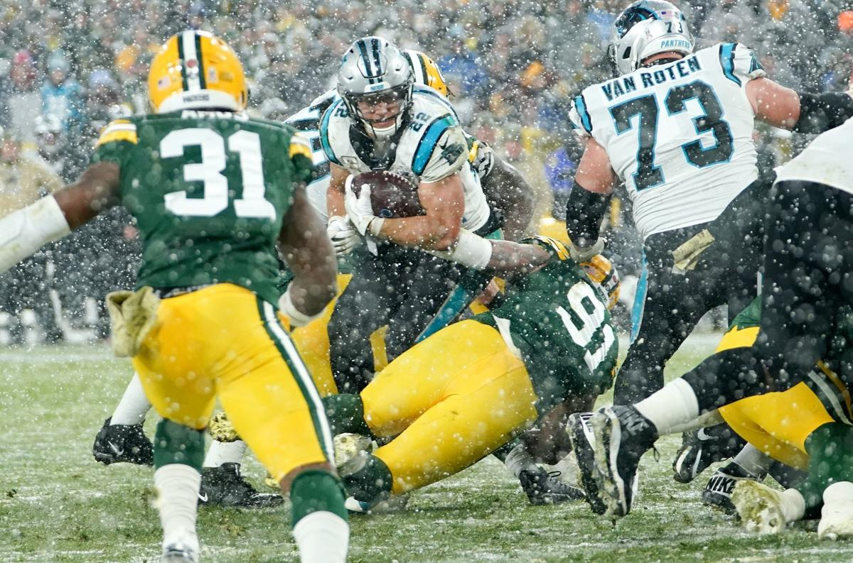 Packers Notes The Big Play By Fack On Last Second Goal Line Stand Seals Victory Over Panthers Pro Football Madison Com