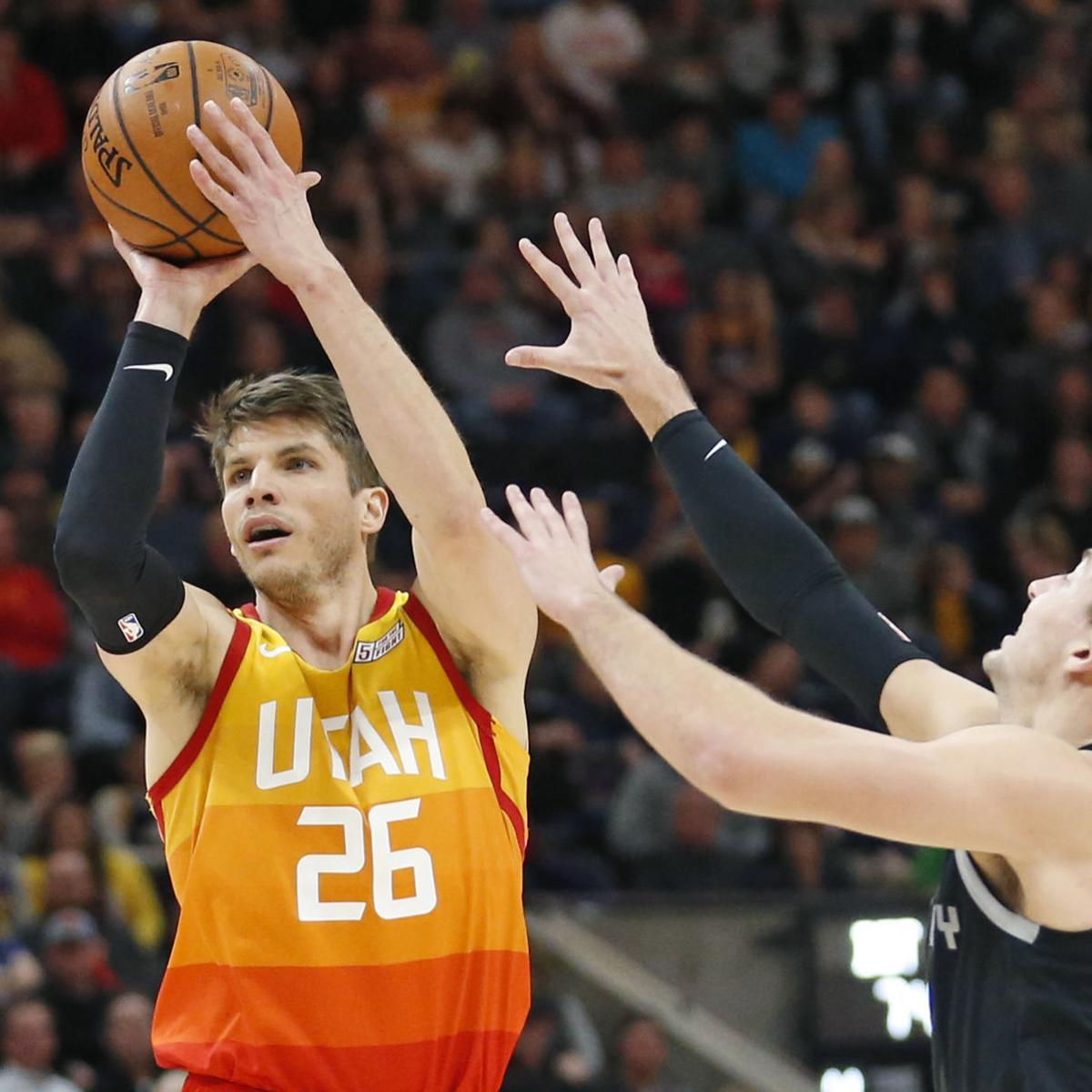 buy online 9c3d3 50130 Bucks reportedly adding veteran sharpshooter Kyle Korver on ...