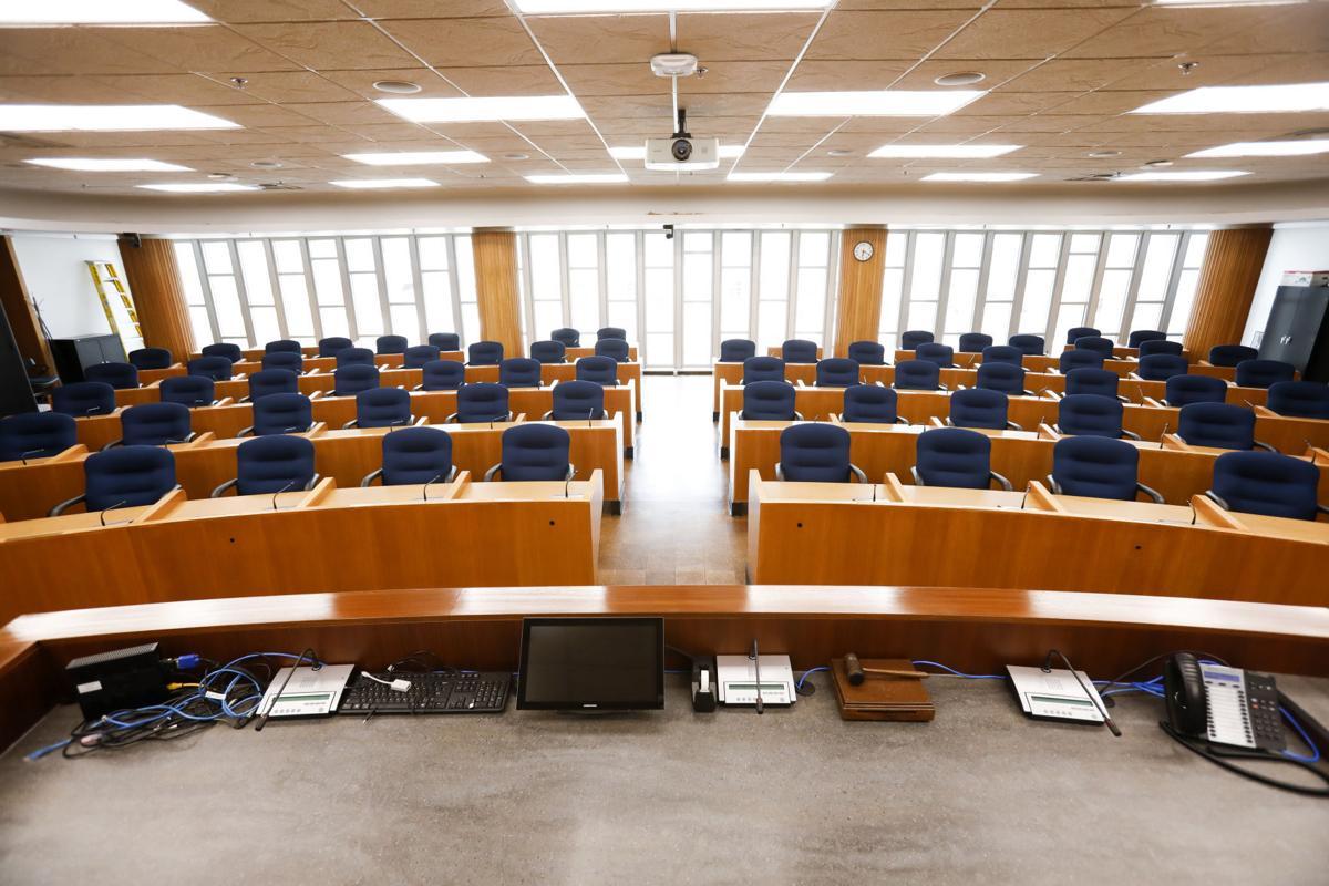 Madison City Council chambers