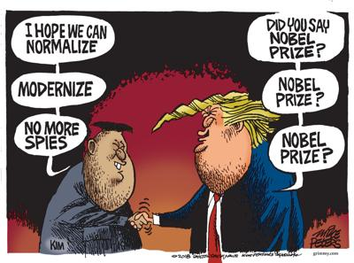 Editorial cartoon (6/17/2018)