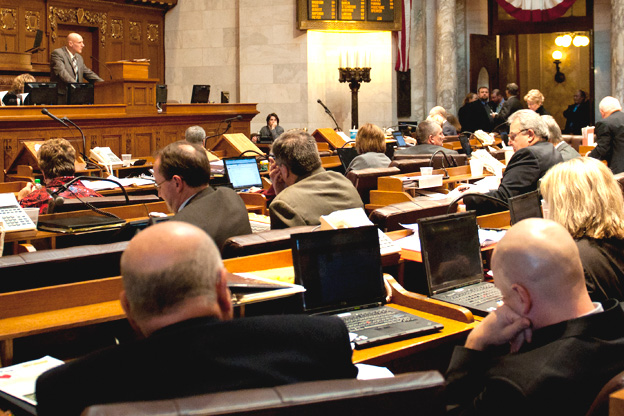 mining bill debate file photo