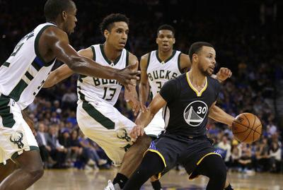 9295287f629d Warriors the favorite even though Bucks are No. 1 seed as NBA playoffs begin