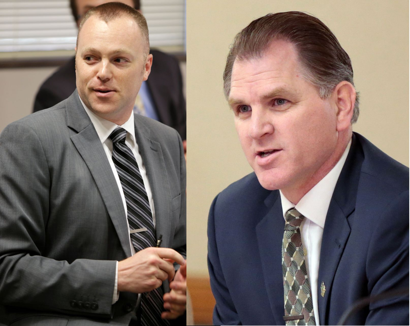 Brian Bell Mike Haas Wisconsin Senate ousts