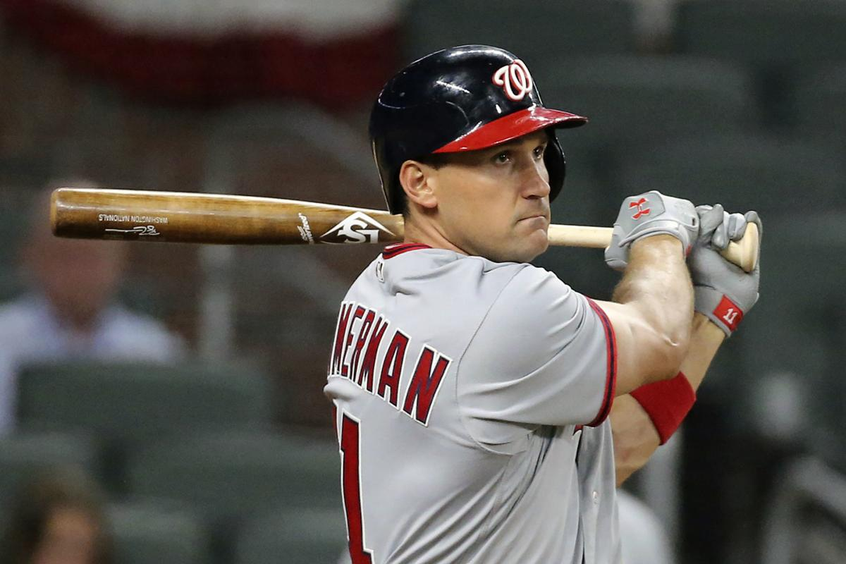 Nationals Ryan Zimmerman, AP photo