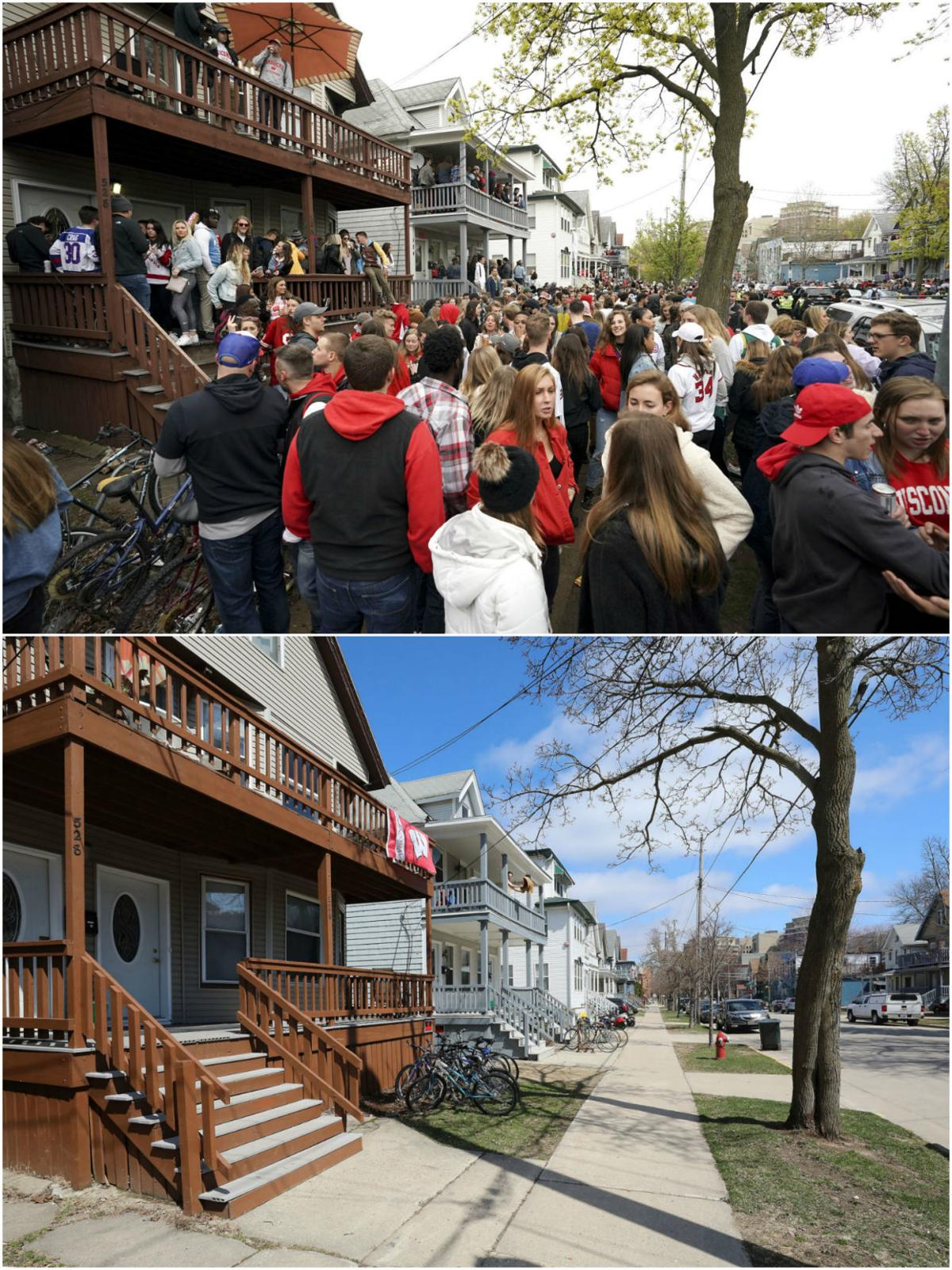Mifflin Street before and after