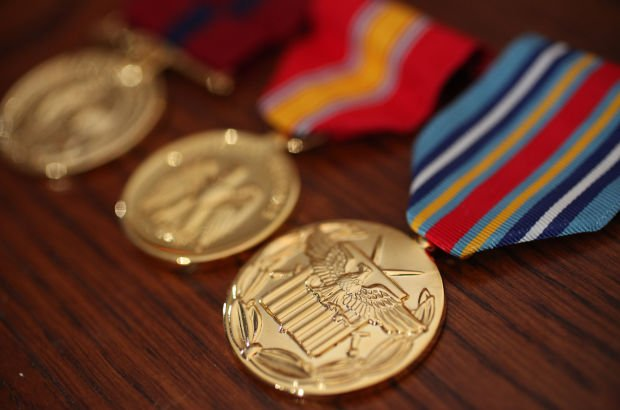 Eric Pizer's medals