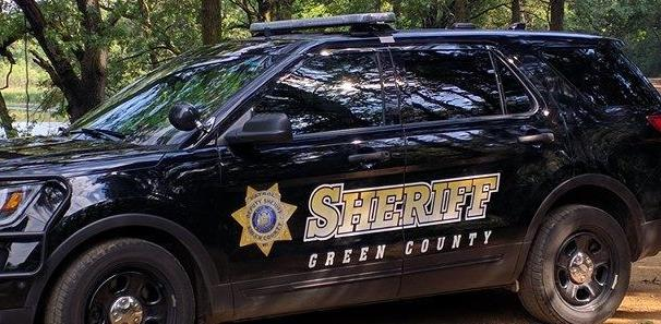 Green County squad car tighter crop