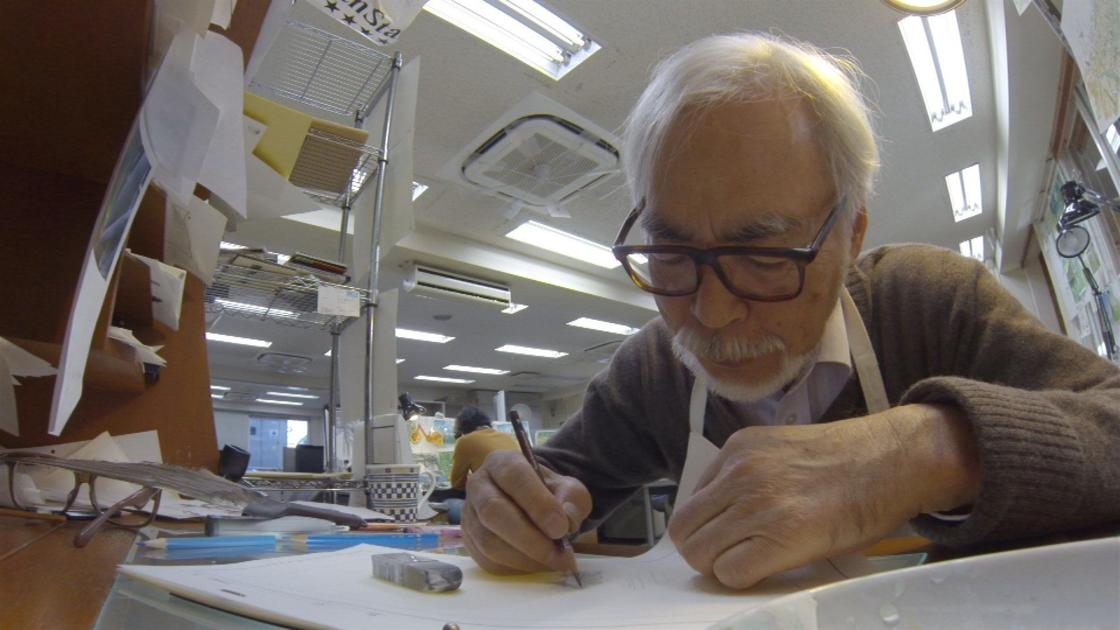 Miyazaki goes back to the drawing board in 'Never-Ending Man'