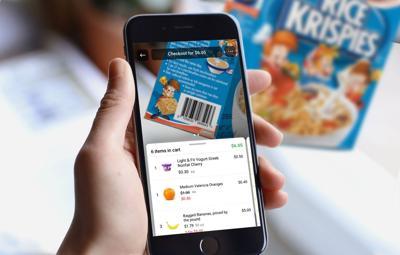 GrocerKey mobile checkout app
