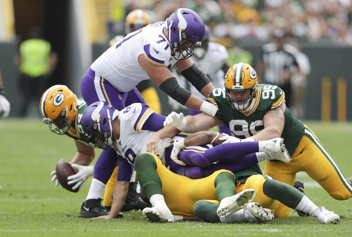 Packers 21, Vikings 16