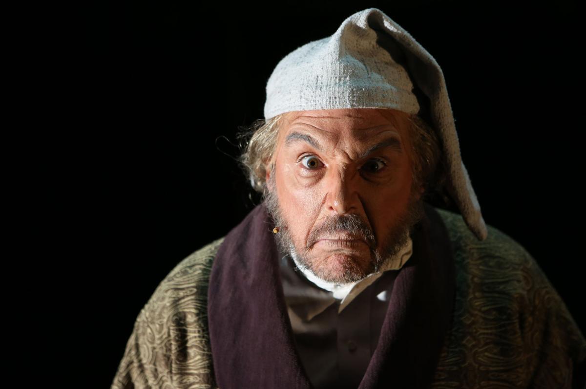 David Daniel as Ebenezer Scrooge in Christmas Carol