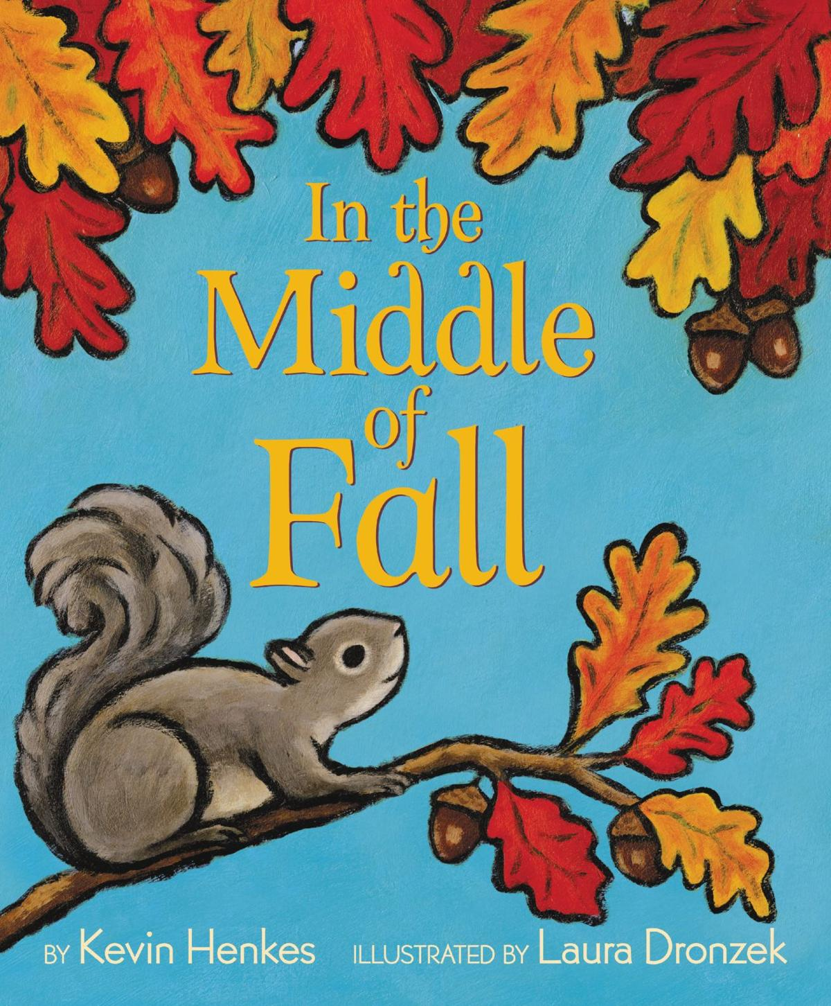 """""""In the Middle of Fall"""" book cover"""