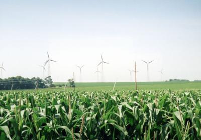 Iowa wind farm