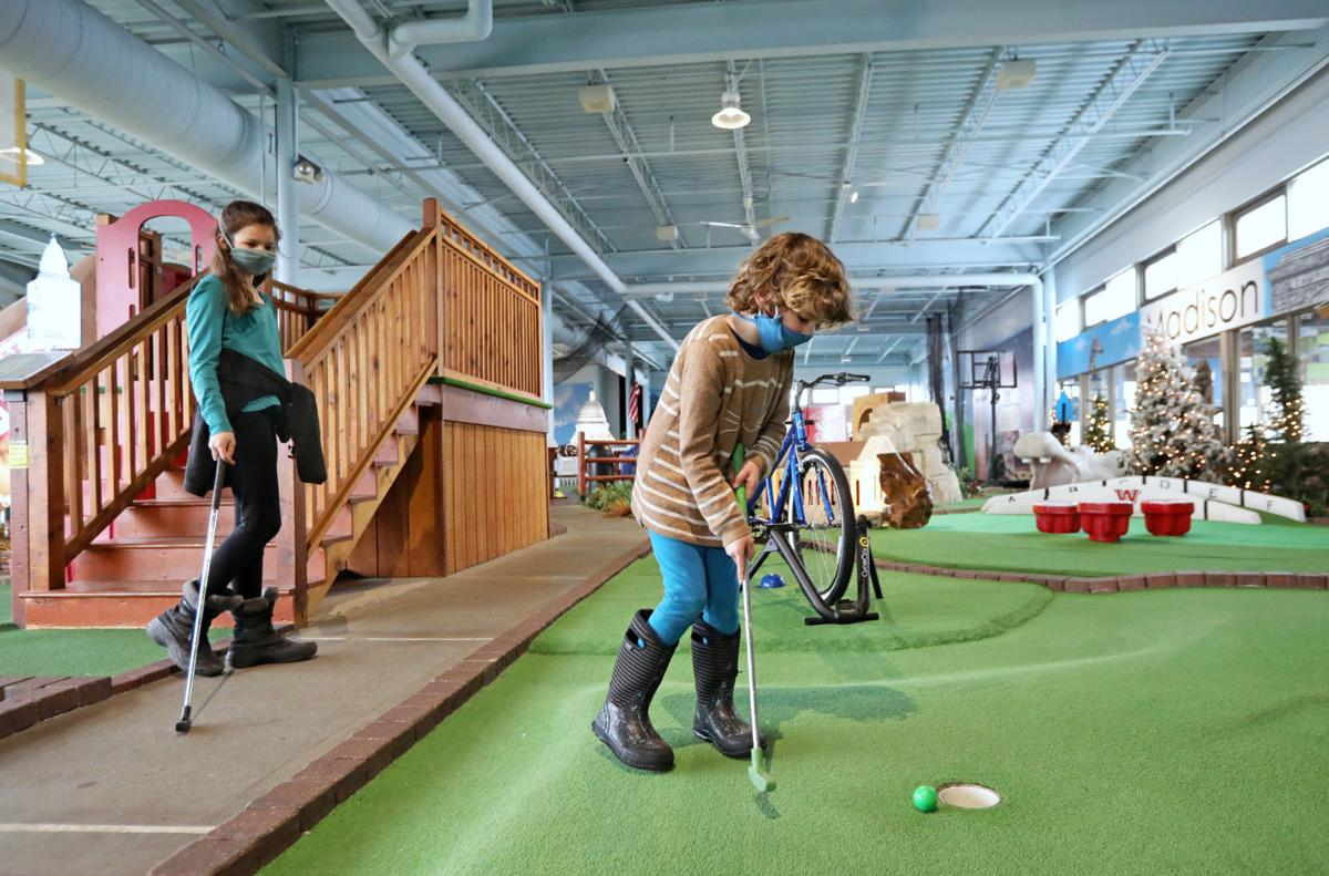 Mini golf at Vitense Golfland