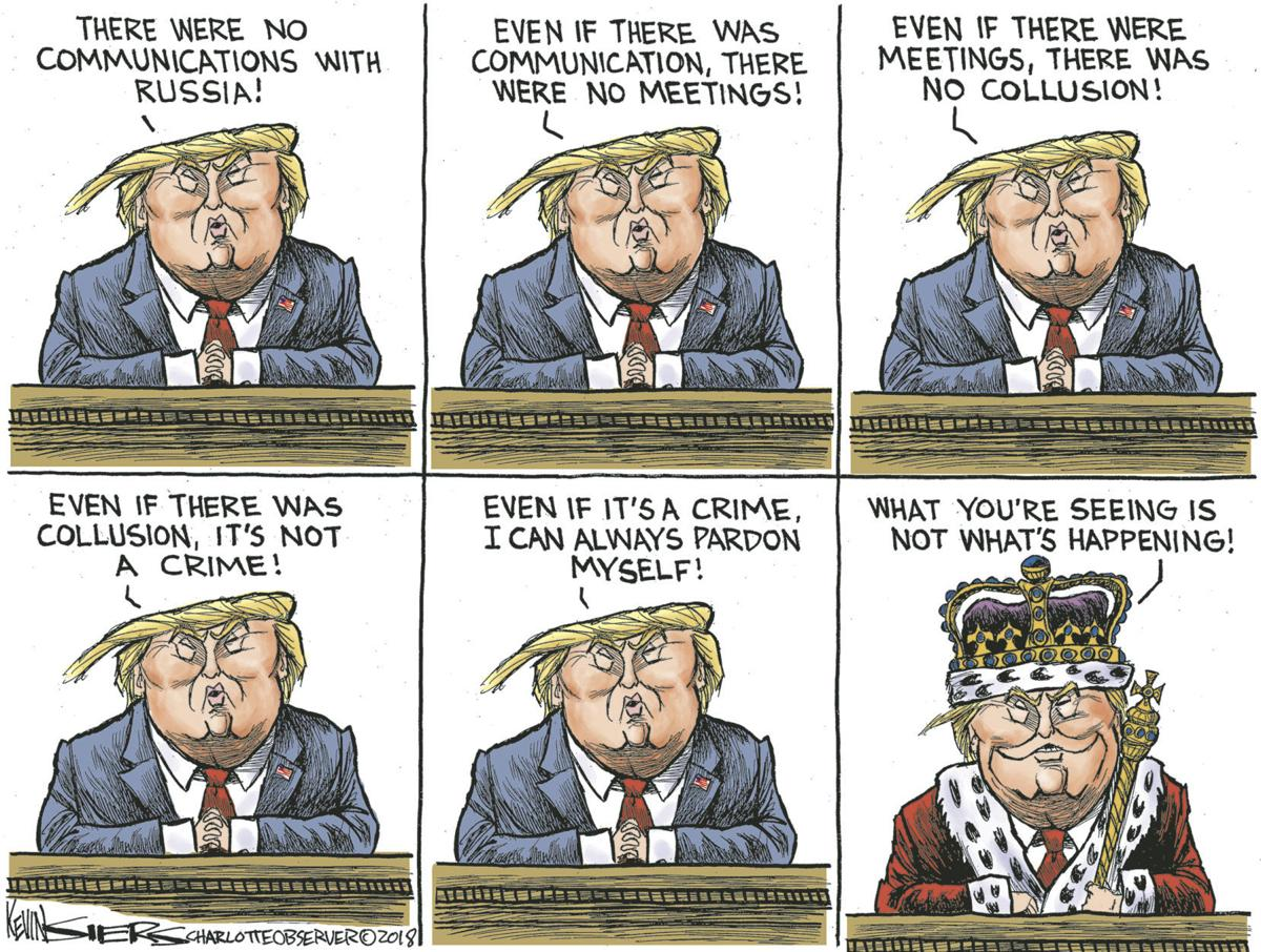 ANOTHER VIEW   KEVIN SIERS, CHARLOTTE OBSERVER