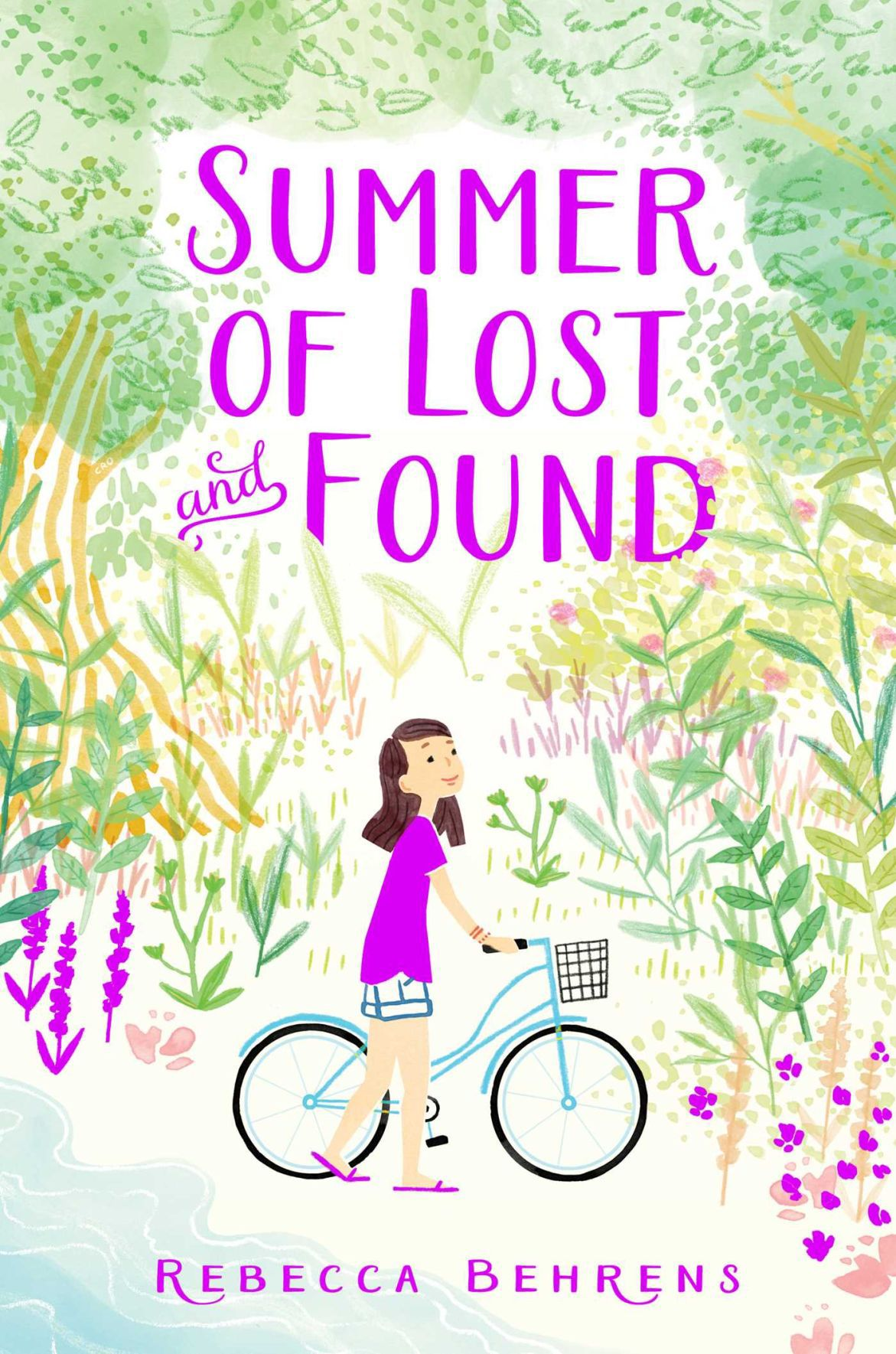 """Cover of """"Summer of Lost and Found"""" by Rebecca Behrens"""