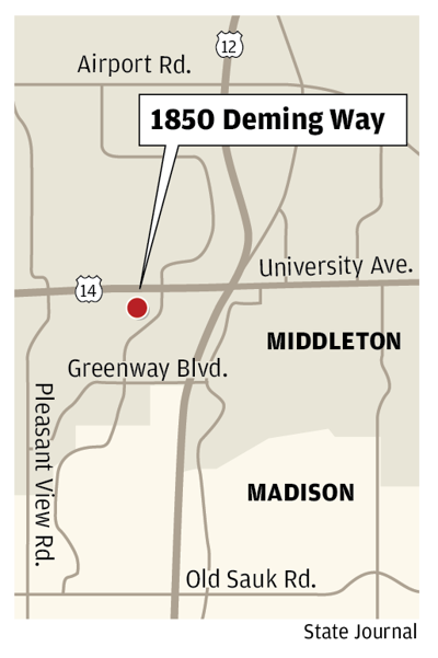 1850 Deming Way map