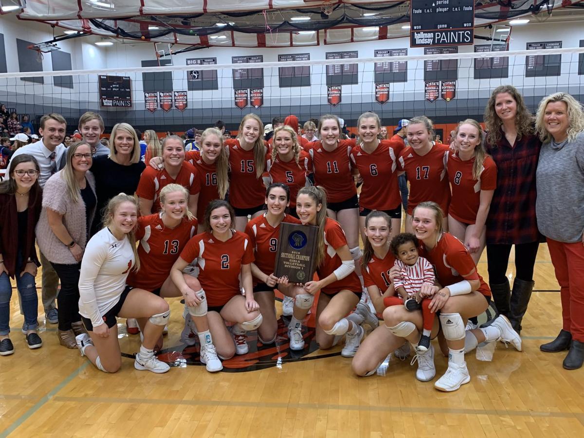 Photo: Sun Prairie girls volleyball team