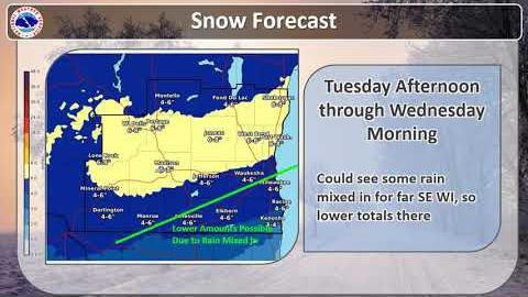Another big snowstorm heading for southern Wisconsin