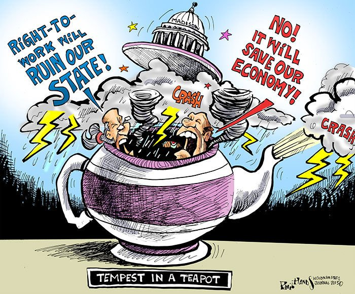 In a Teapot