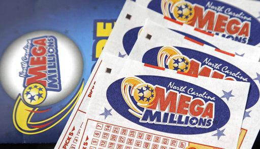 Mega Millions lottery tickets, AP generic file photo