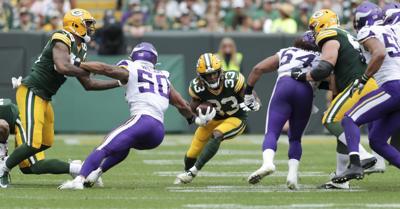 Aaron Jones - Packers vs. Vikings