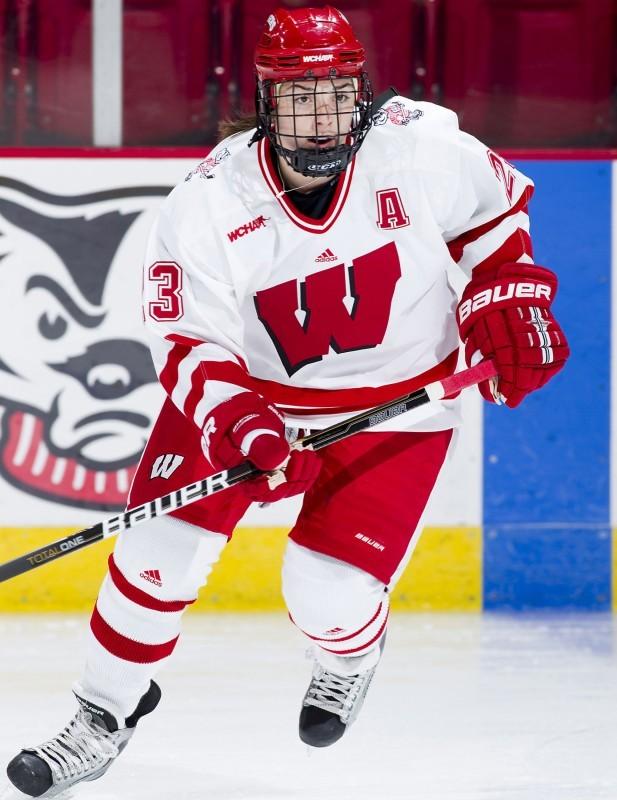 UW women s hockey  Knight is modest e6c28371a11