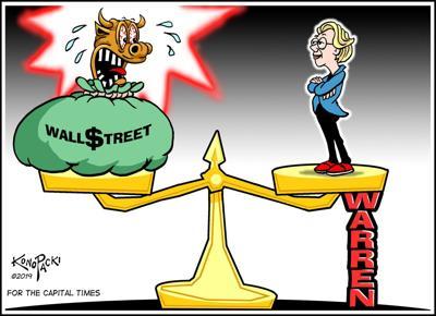Plain Talk: Elizabeth Warren is giving Wall Street a much-needed scare