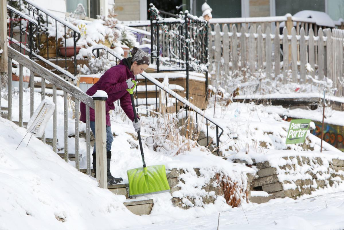 Just Ask Us: Who is responsible for removing snow on the sidewalk in front of my house?