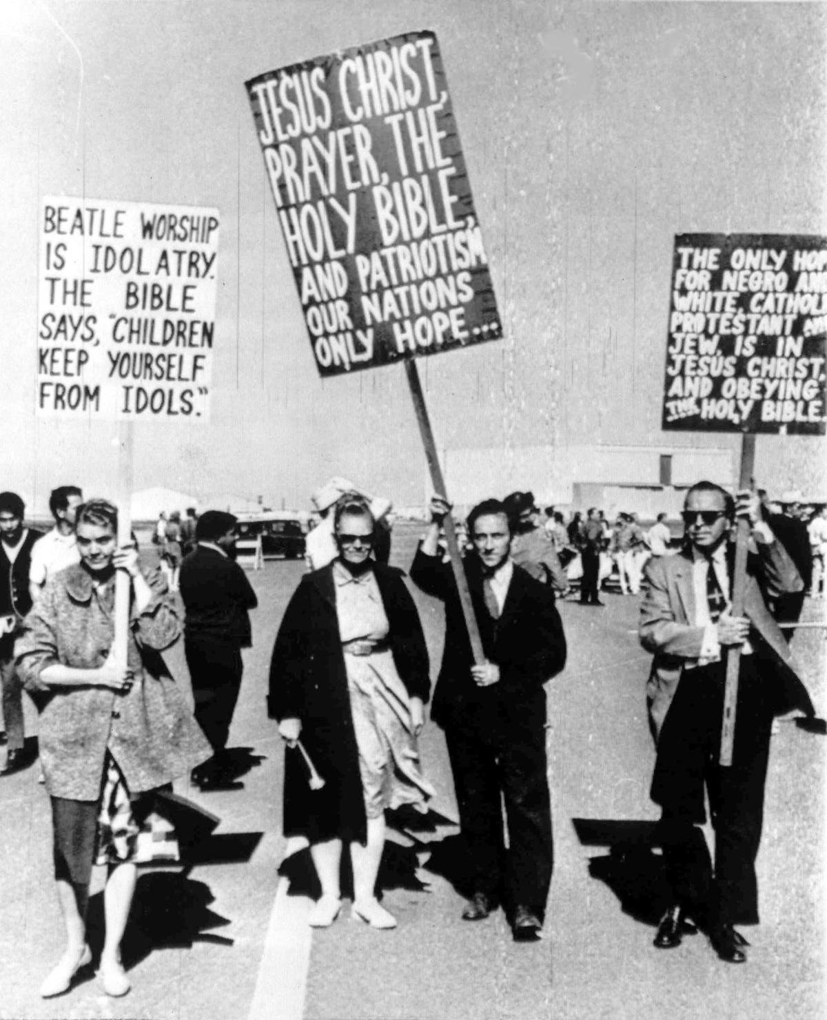 BEATLES:  Protest