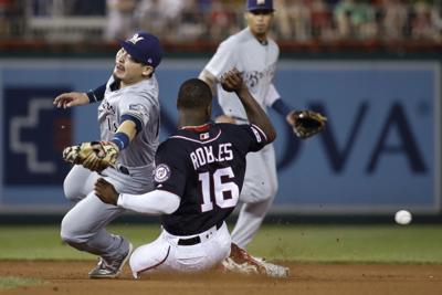 Brewers Nationals Baseball