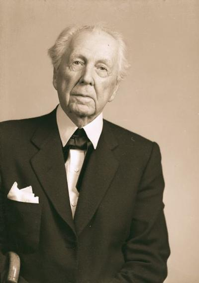 Frank Lloyd Wright file photo