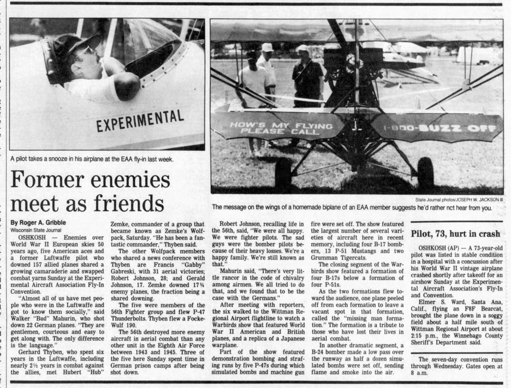 From the Archives: EAA AirVenture through the years | Local