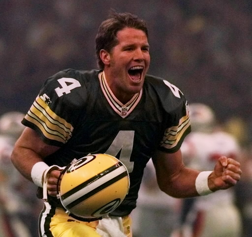 Brett Favre, Super Bowl XXXI