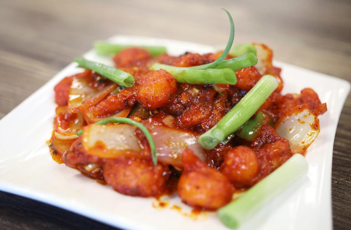 Nawabi Hyderabad House shrimp