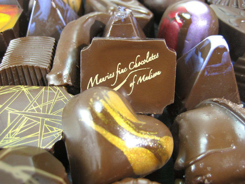 Maurie's fine chocolates