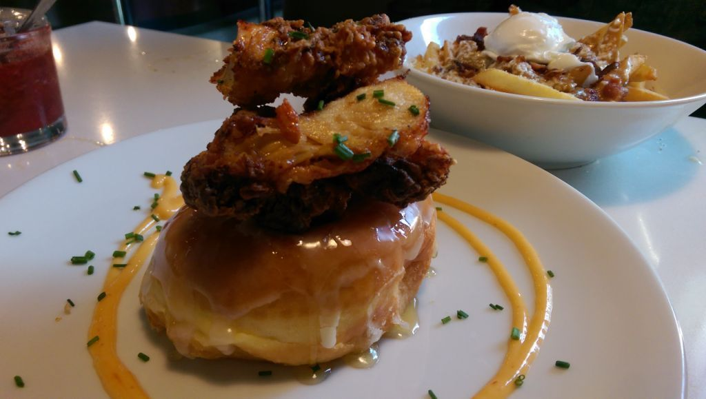 Chicken & A Donut