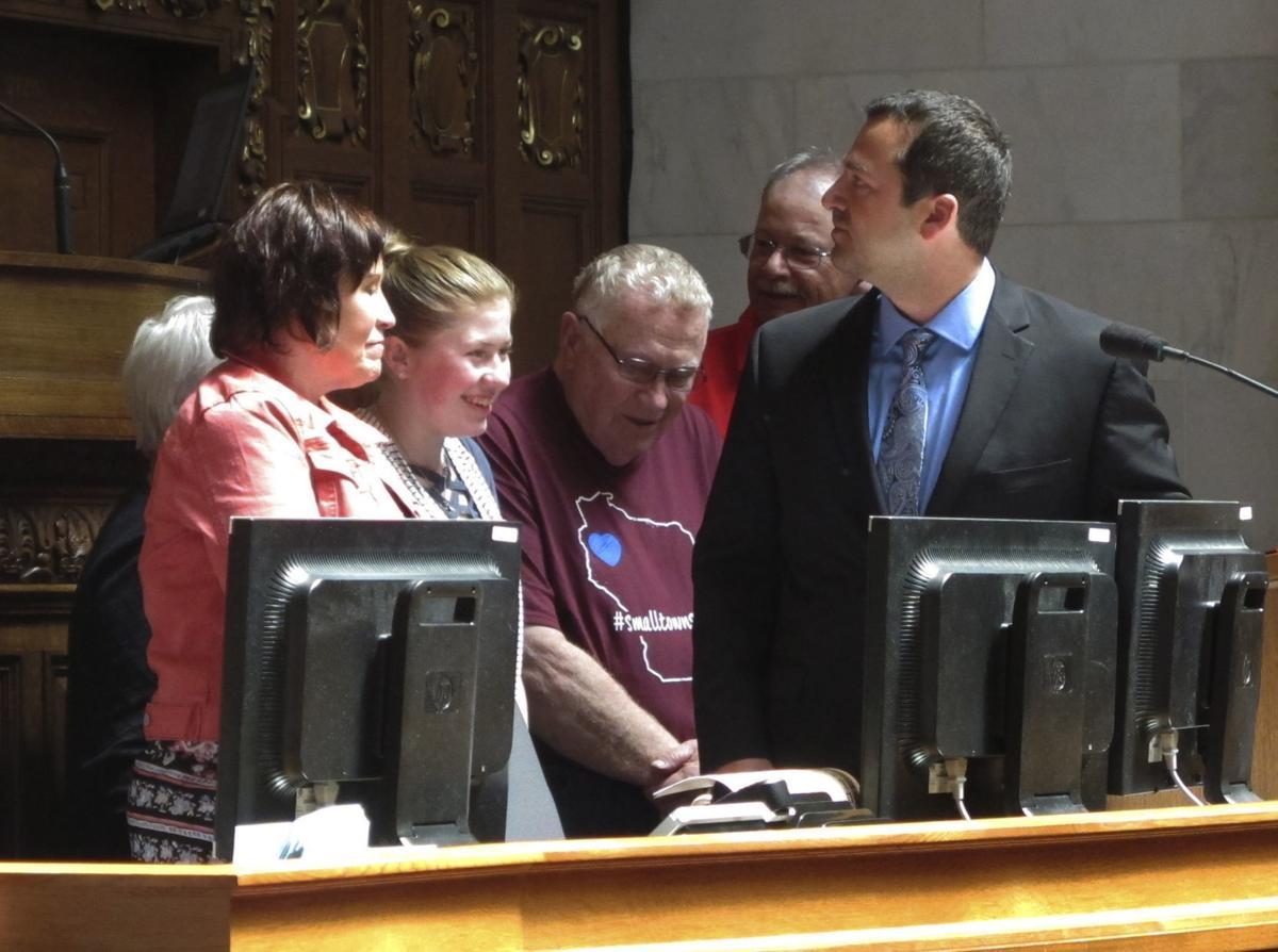 Jayme Closs honored by Legislature